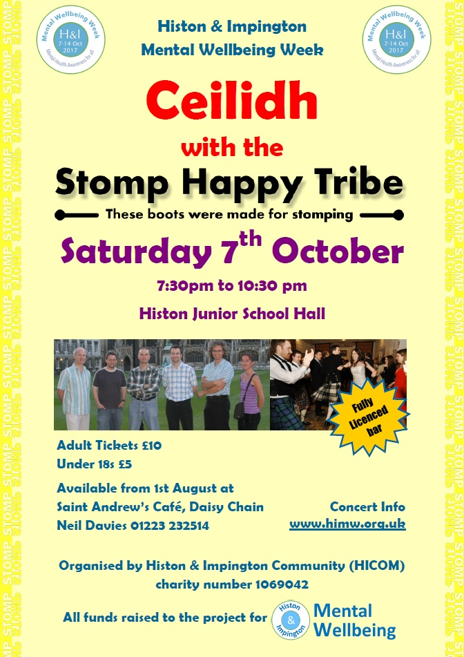 Ceilidh 7 Oct