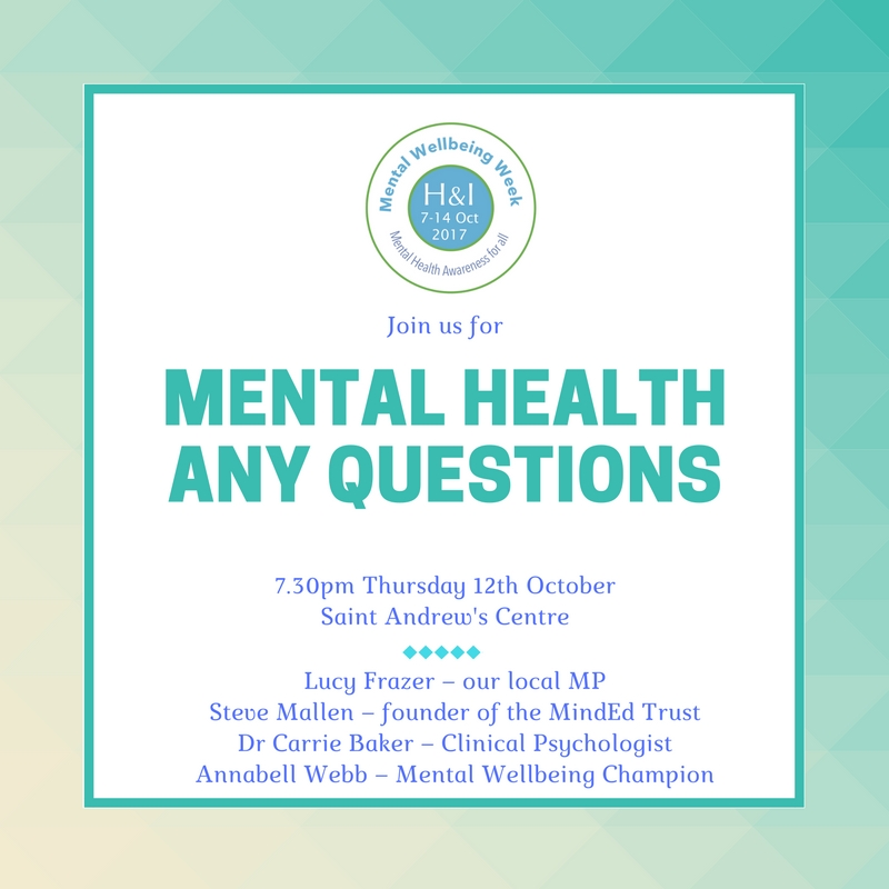 Mental Health Any Questions!